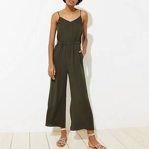 BRAND NEW!!! LOFT BEACH WIDE LEG JUMPSUIT